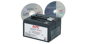 APC Replacement Battery Cartridge #9 Sealed Lead Acid (VRLA)