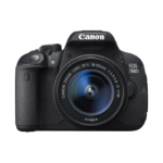 Canon EOS 700D + EF-S 18-55mm SLR Camera Kit 18MP CMOS 5184 x 3456pixels Black