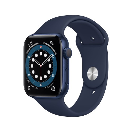 Apple Watch Series 6 OLED 44 mm Blue GPS (satellite)