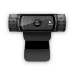 Logitech C920 1920 x 1080Pixeles USB 2.0 Negro
