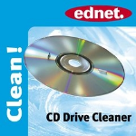 Ednet CD Drive Cleaner CD's/DVD's
