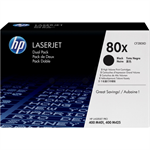 HP CF280XD (80X) Toner black, 6.9K pages, Pack qty 2
