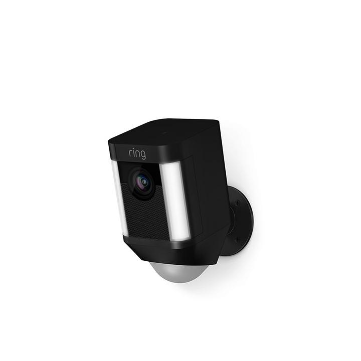 Ring Cam Battery - Black Cámara de seguridad IP Exterior Caja Pared 1920 x 1080 Pixeles