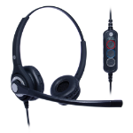 JPL 402S Headset Head-band USB Type-A Black