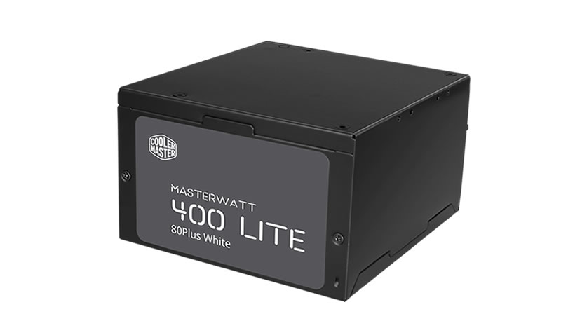 Cooler Master MasterWatt Lite power supply unit 400 W ATX Black