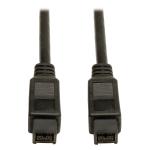 "Tripp Lite F015-010 firewire cable Black 118.1"" (3 m)"