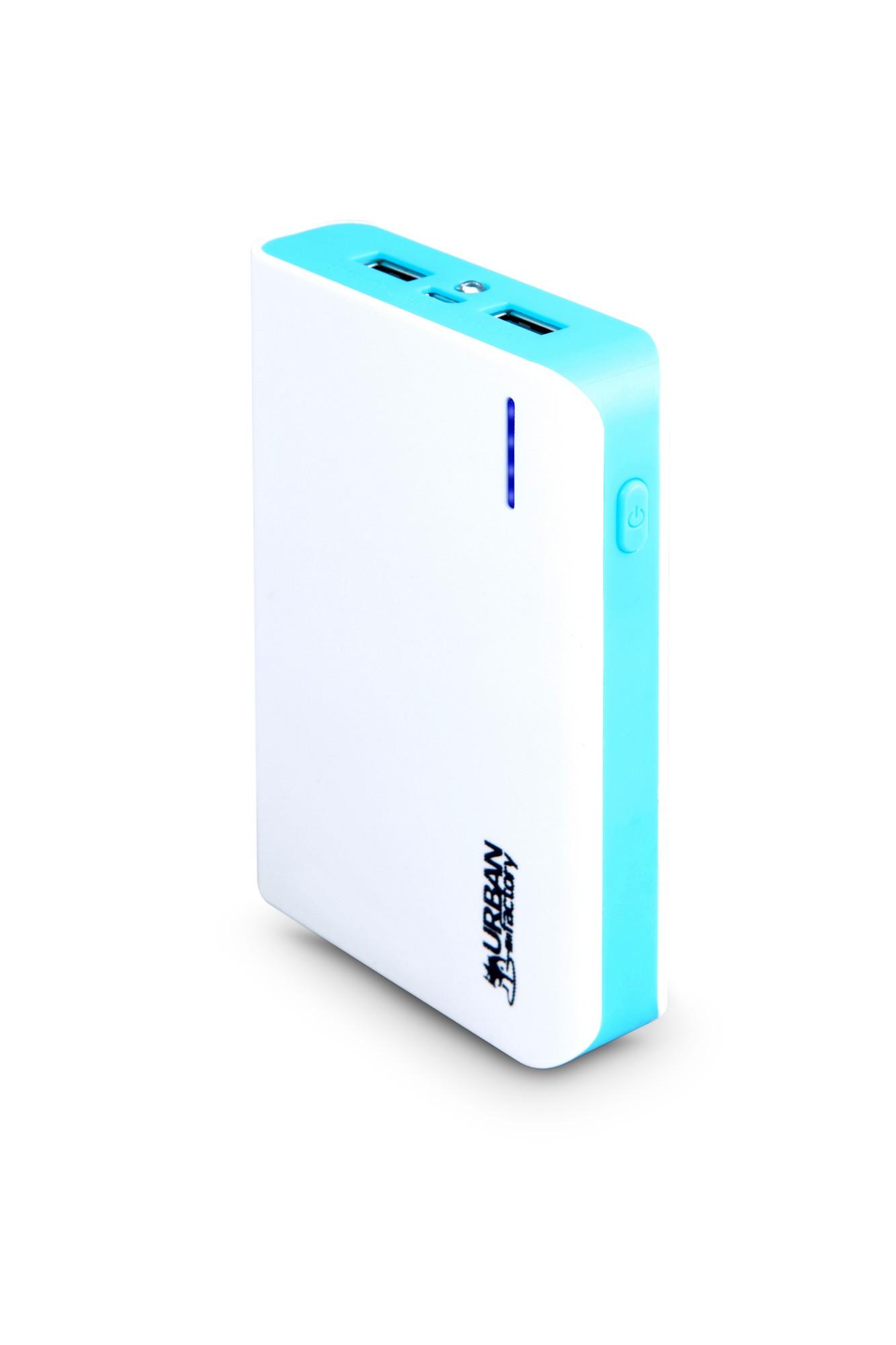 Urban Factory Cosmic batería externa Azul, Blanco 8000 mAh