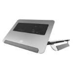 """Cooler Master NotePal U150R notebook cooling pad 38.1 cm (15"""") 1600 RPM Silver"""