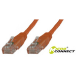 Microconnect UTP CAT5E 5M 5m Orange networking cable