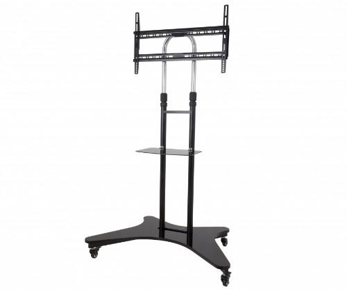 "AVF WFSL600 60"" Portable Black flat panel floorstand"