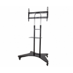 "AVF WFSL600 60"" Portable Black flat panel floorstand"