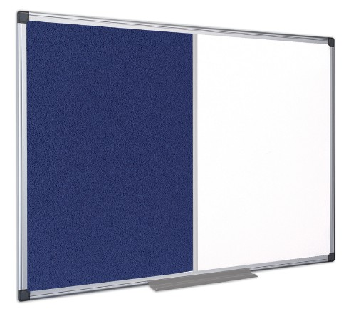 Bi-Office XA2722170 insert notice board Indoor Blue, White Aluminium