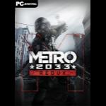 Deep Silver Metro 2033 Redux, PC PC/Mac/Linux Remastered