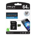 PNY Performance memory card 64 GB MicroSDXC Class 10 UHS-I