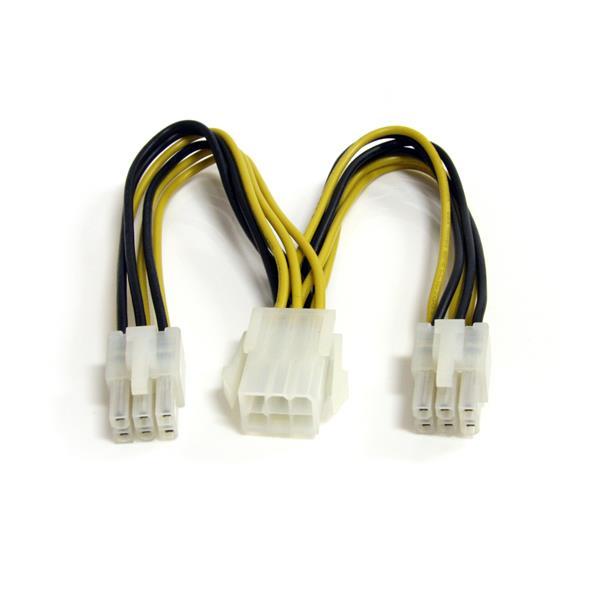 StarTech.com Cable Divisor de Alimentación para PCI Express de 6 pulgadas