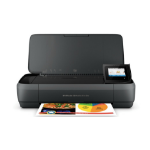 HP OfficeJet 250 Mobile AiO 4800 x 1200DPI Thermal Inkjet A4 10ppm Wi-Fi multifunctional