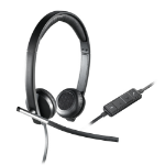 Logitech H650e Binaural Head-band Black,Silver headset