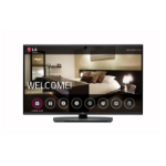"LG 49LU341H hospitality TV 124.5 cm (49"") Full HD 400 cd/m² Black 20 W"