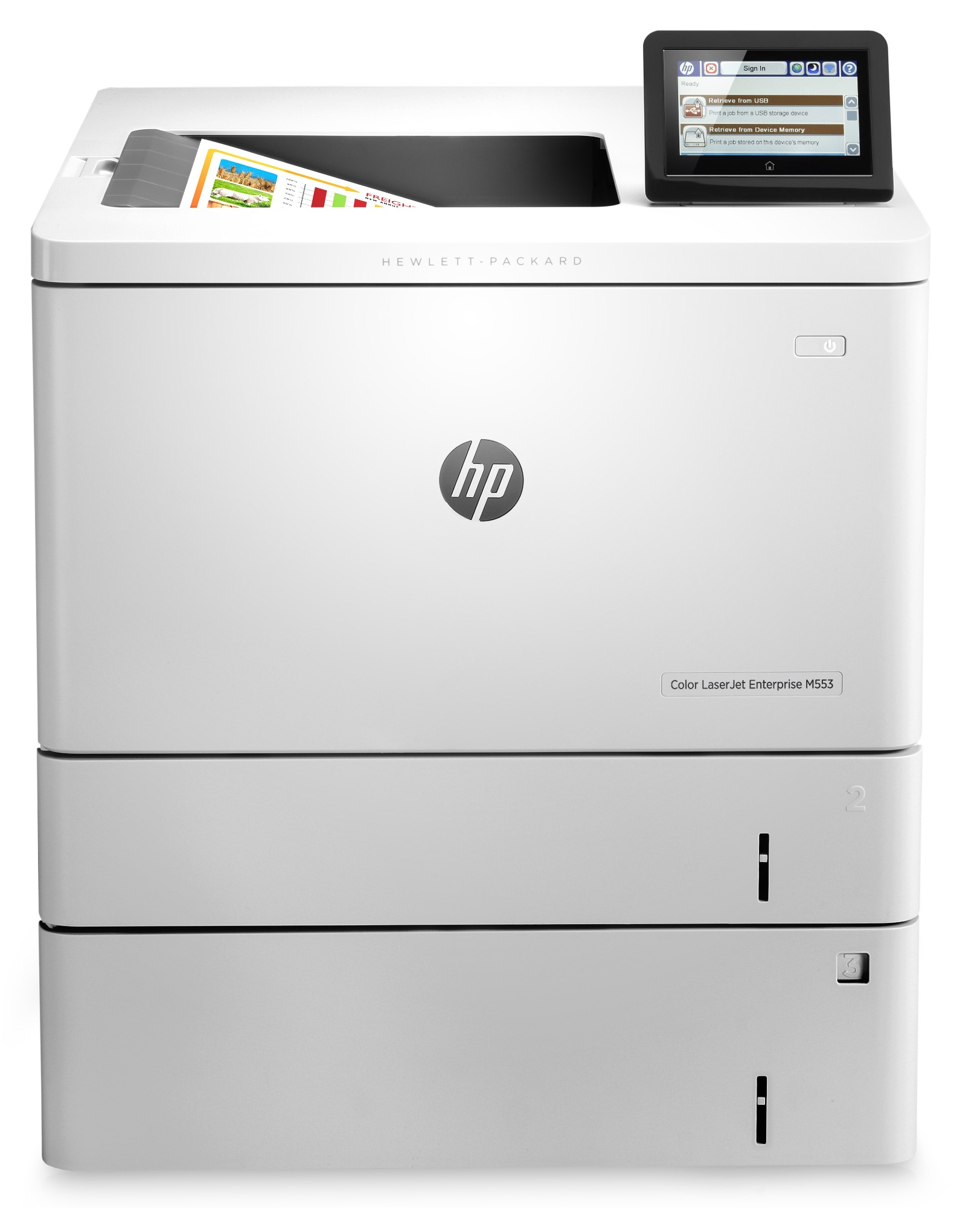 HP LaserJet Color Enterprise M553x Colour 1200 x 1200 DPI A4