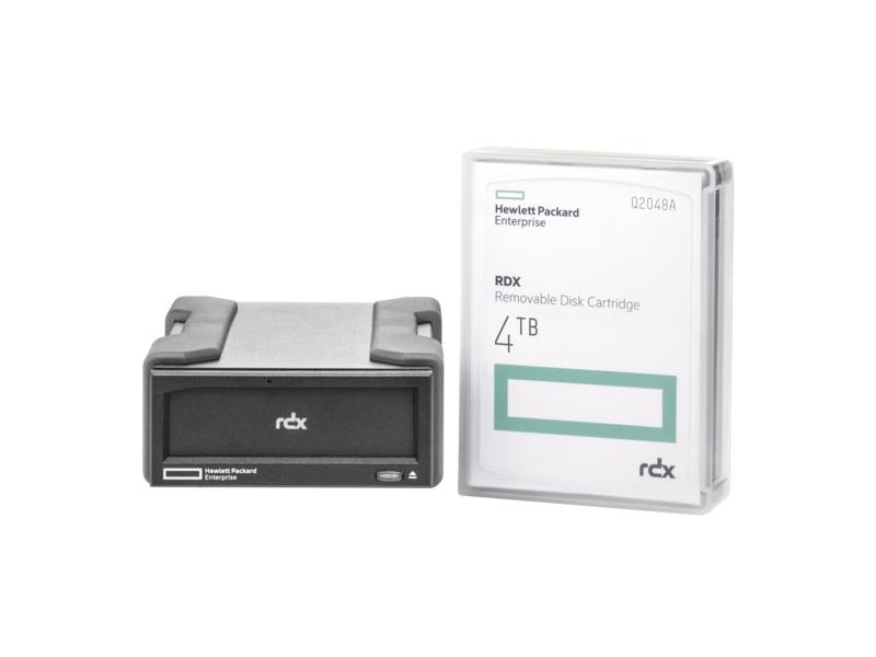 HP RDX 4TB USB 3.0 External tape drive 4000 GB