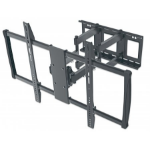 "Manhattan 461221 100"" Black flat panel wall mount"