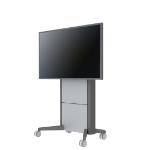 SMS Smart Media Solutions K530-001-6 flat panel floorstand Portable flat panel floor stand Grey