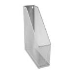 Osco Mesh Magazine File Rack Metal (Silver)