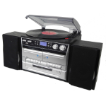 Denver MRD-165 Home audio micro system Black,Silver