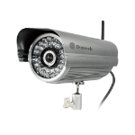 Dynamode Wireless Outdoor Bullet IP Camera With HD720p, 36pcs IR LEDs, 25m Range, IR-Cut, Wide Dynamic Range,