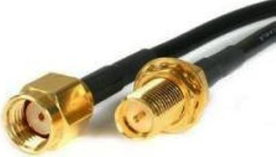 Extreme networks 25-72178-01 coaxial cable Black
