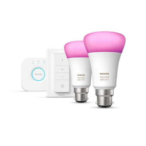 Philips Hue White and colour ambience Starter kit B22