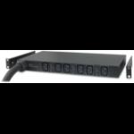 APC Basic Rack PDU AP7526 unidad de distribución de energía (PDU) 1U Negro 6 salidas AC