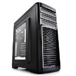 Deepcool Kendomen TI Mid-Tower Case, 5 Fans Pre-installed, Titianium