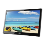 "AOC I1659FWUX 15.6"" 1920 x 1080pixels Multi-touch Black touch screen monitor"