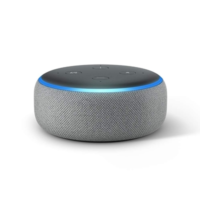 AMAZON Echo Dot (3rd Gen) Smart speaker with Alexa Heather Grey
