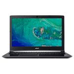 "Acer Aspire 7 A717-72G-78UG Zwart Notebook 43,9 cm (17.3"") 1920 x 1080 Pixels 2,20 GHz Intel® 8ste generatie Core™ i7 i7-8750H"