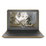 "HP Chromebook 11A G6 EE Grijs, Oranje 29,5 cm (11.6"") 1366 x 768 Pixels 7th Generation AMD A4-Series APUs A4-9120C 4 GB DDR4-SDRAM 32 GB eMMC"