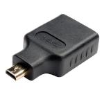 Tripp Lite P142-000-MICRO cable interface/gender adapter Micro HDMI HDMI Black