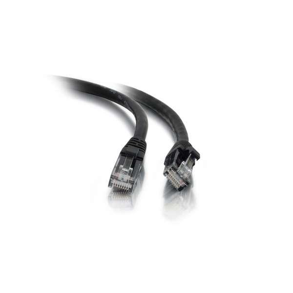 C2G Cable de conexión de red LSZH UTP, Cat5E, de 1 m - Negro