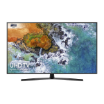 "Samsung UE50NU7400U 50"" 4K Ultra HD Smart TV Wi-Fi Black LED TV"