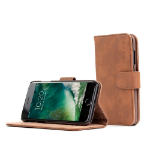 """TheSnugg B01I3BZACK 4.7"""" Wallet case Brown mobile phone case"""