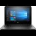 "HP ProBook x360 11 G1 EE Negro Híbrido (2-en-1) 29,5 cm (11.6"") 1366 x 768 Pixeles Pantalla táctil Intel® Celeron® N3350 4 GB DDR3L-SDRAM 128 GB SSD"