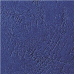 GBC LeatherGrain Binding Covers 250gsm A4 Royal Blue (100) binding cover