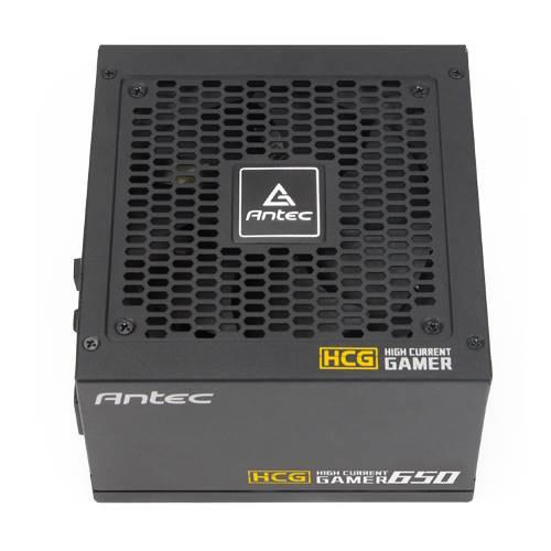 Antec HCG650 Gold power supply unit 650 W ATX Black