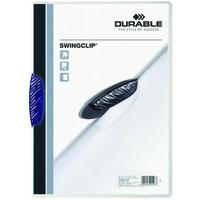 Durable Swingclip® Blue report cover