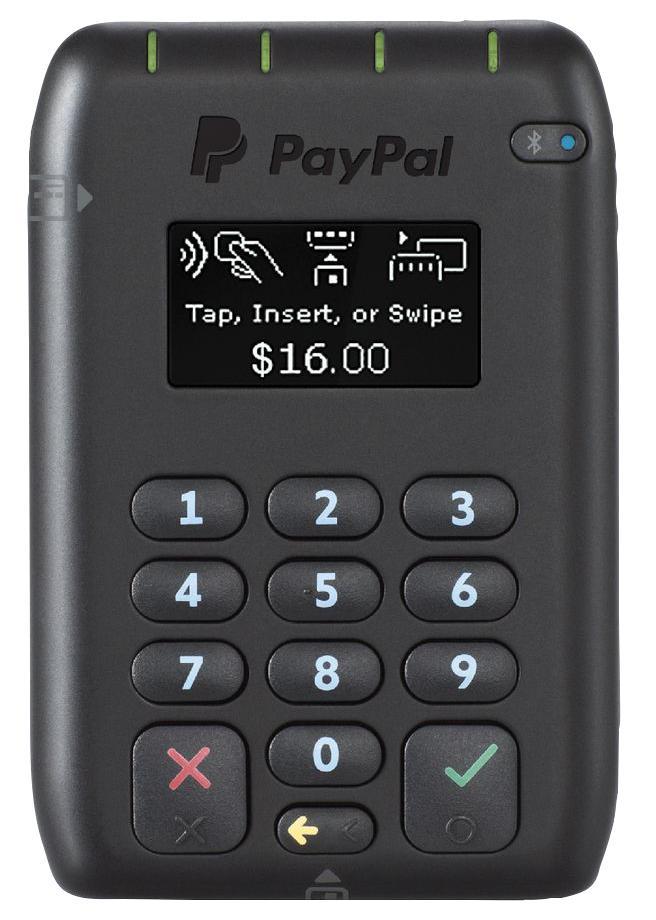 PayPal CHIP/PIN CARD READER