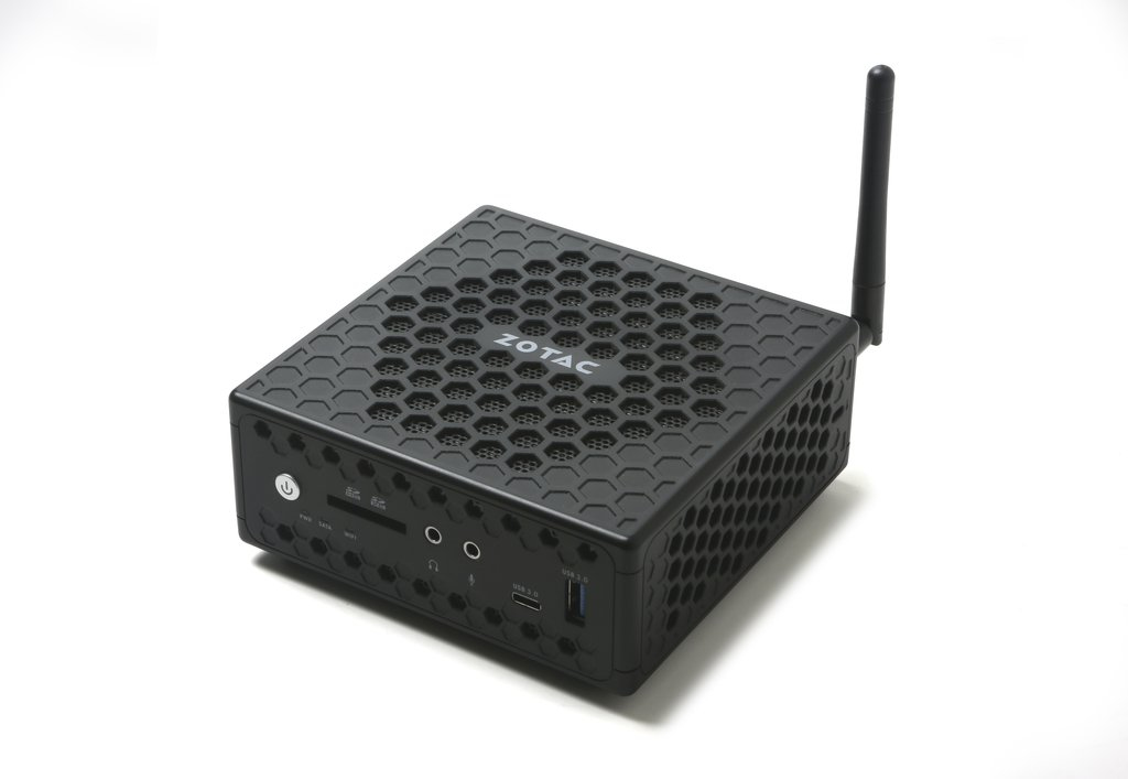Zotac ZBOX CI327 nano 1.10GHz N3450 1L sized PC Black Mini PC