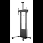 "Hagor Mobile Pro Light 2.54 m (100"") Portable flat panel floor stand Black"