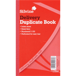 Silvine DUP BOOK 8.25X5 DELIVERY 613-T