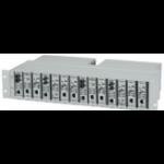 Black Box LMC200-2PS network equipment chassis Silver